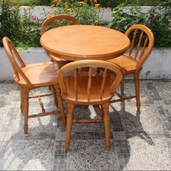ahsap-yuvarlak-masa-sandalye-takimi-mobilya-dekor-ankara-sku-123